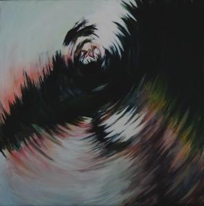 Subtle Spin 2016  12 x 12 Acrylic